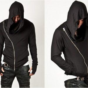 Men's zipper Hoodies Mantle Hip Hop Long Sleeve Streetwear Hooded Jackets