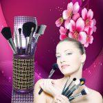 Makeup Brushes Tool Set C...