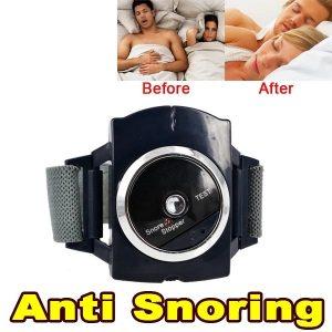 Hot sale Electronic snore Stopper Biosensor Anti Snore Wristband Watch Cessation
